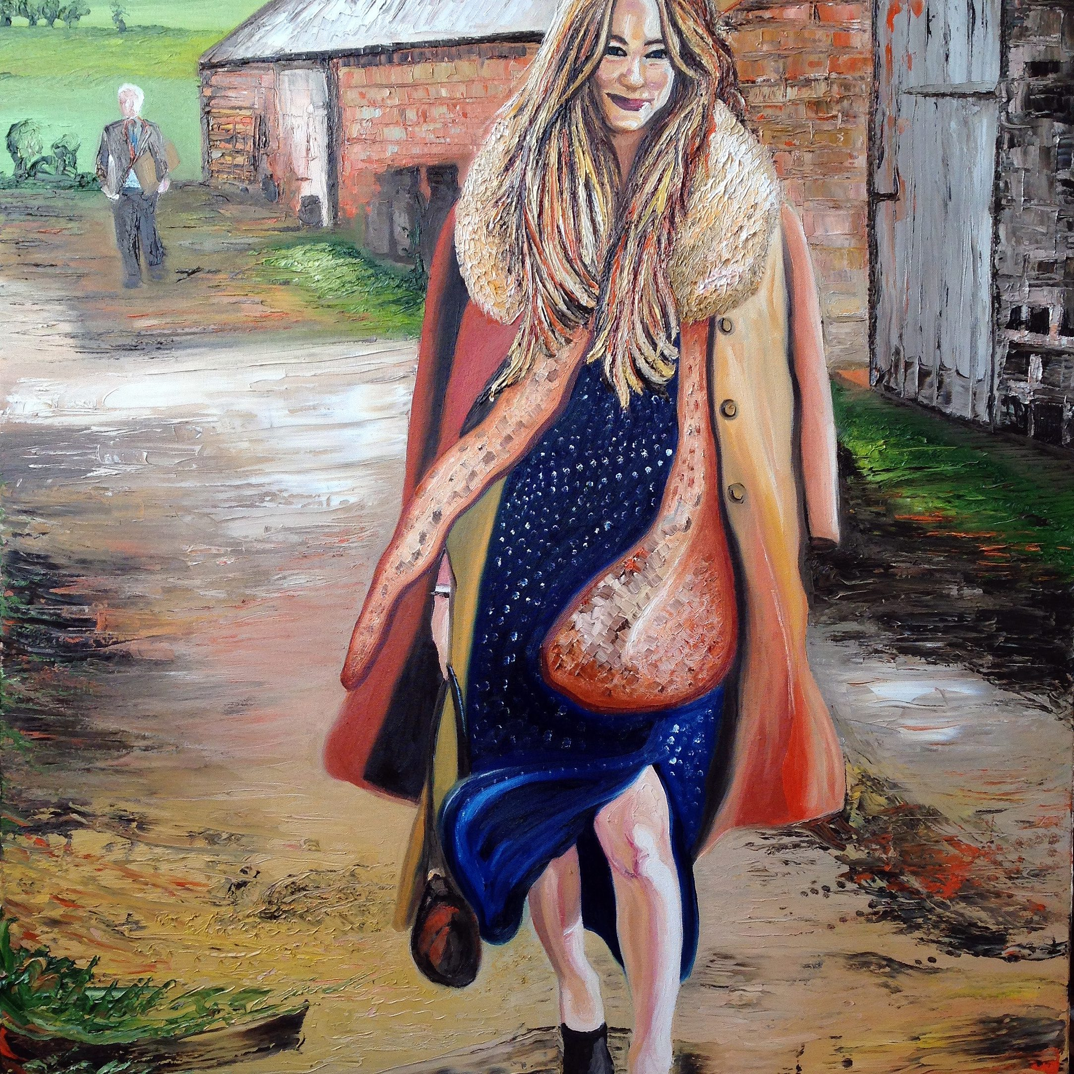 A Day in the Country | Oil on canvas | 92 x 122 cm