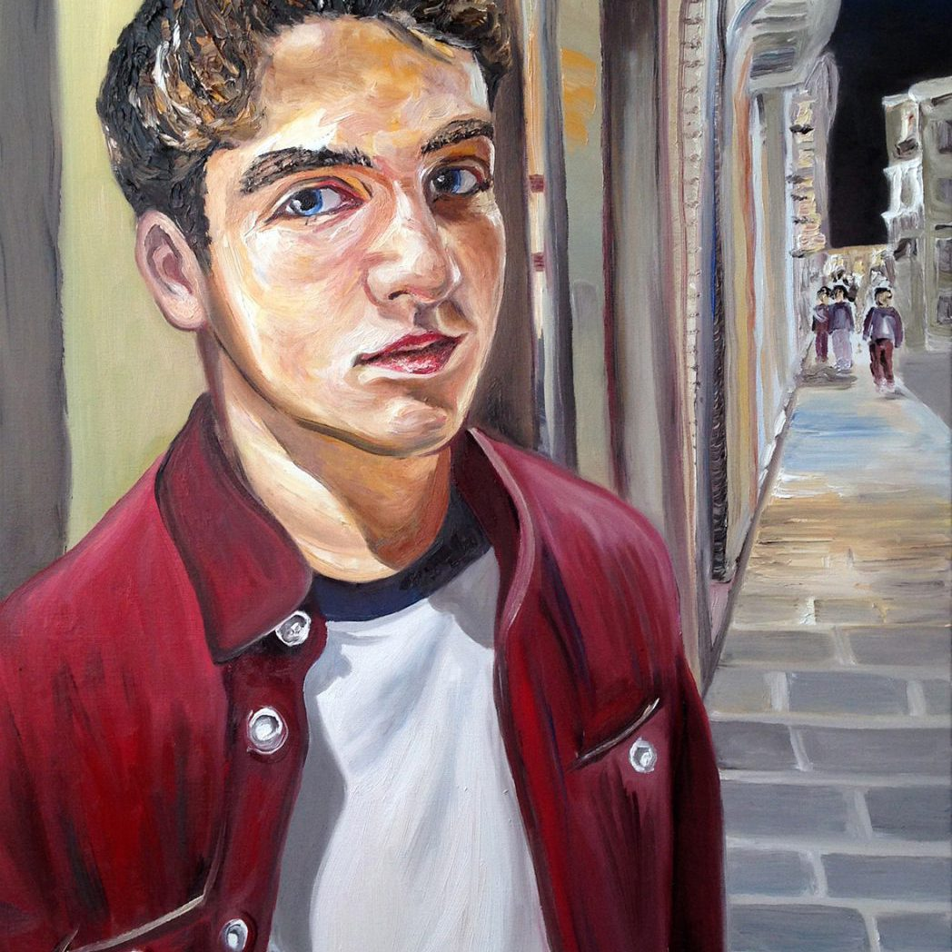 Aldous | Oil on canvas | 60 x 90 cm | 2015