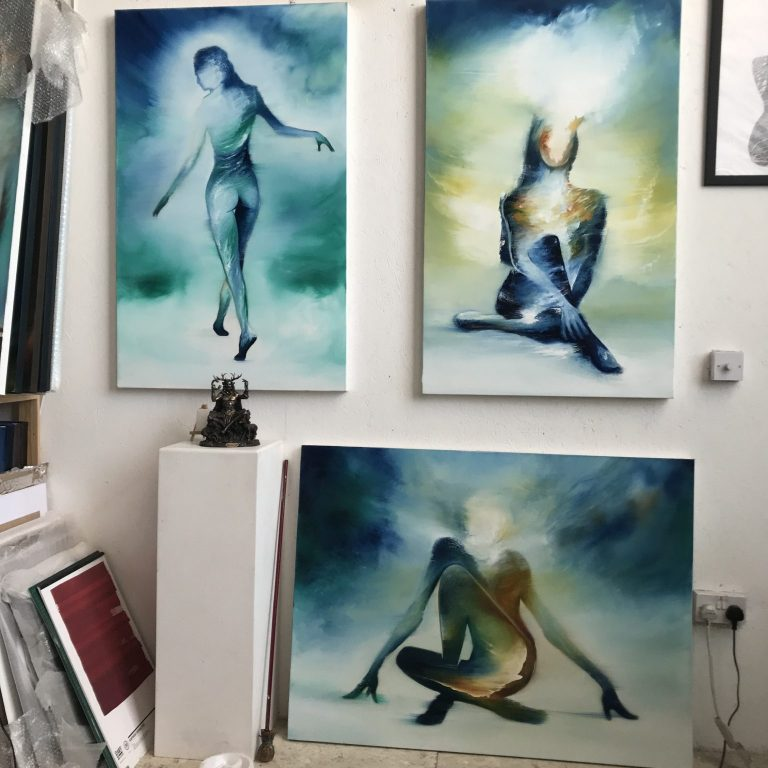 Works in the studio Spring / Summer, 2021