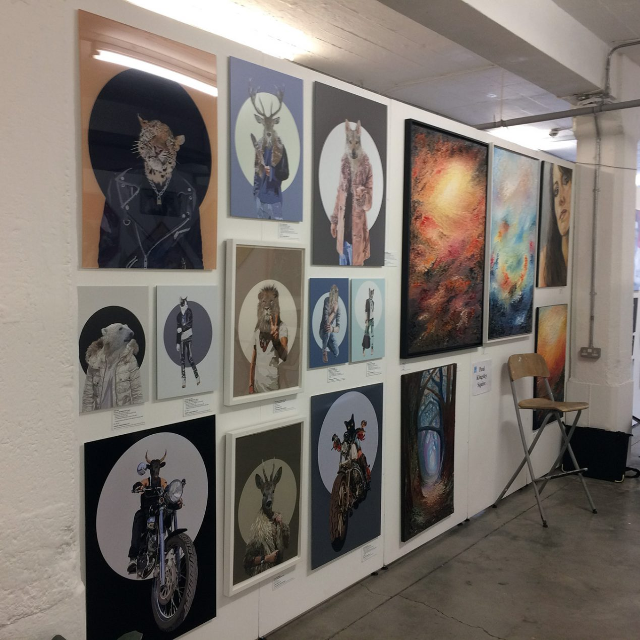 Talented Art Fair 2017 - Truman Brewery, Brick Lane, London