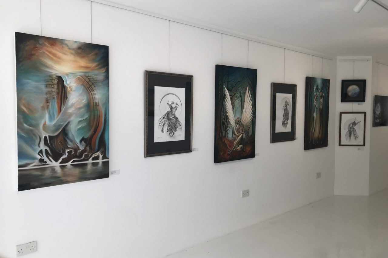 TRANSFORMATIONS solo exhibition by Paul Kingsley Squire