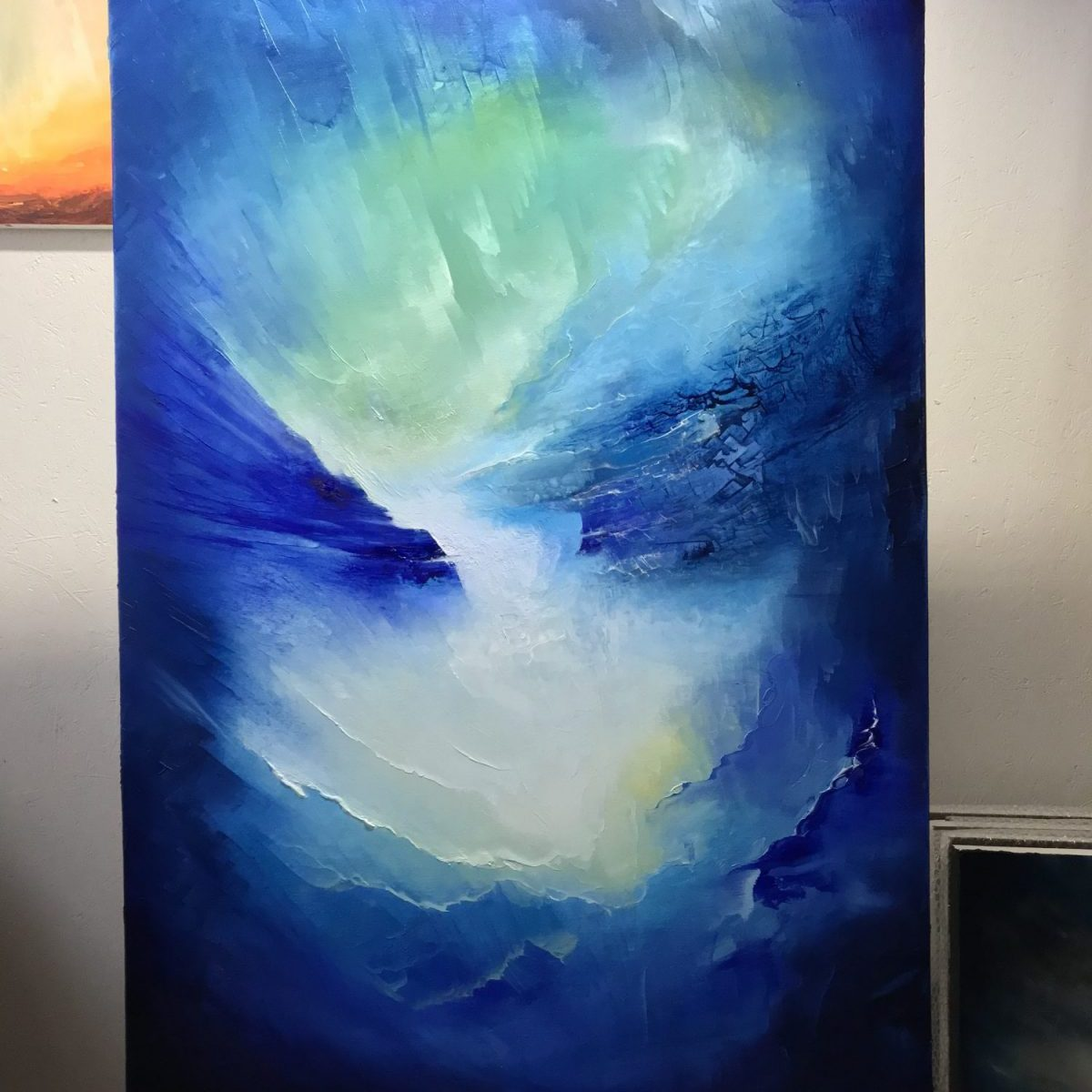 Deep Blue Dream oil painting by Paul Kingsley Squire