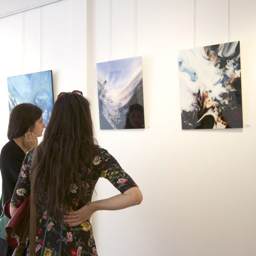Between Worlds, solo show at the Camden Image Gallery, London 2014