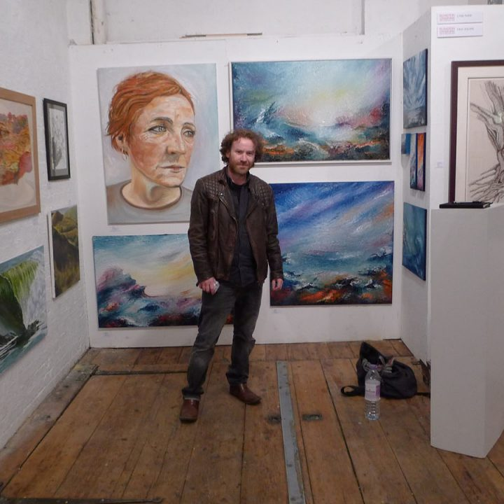 Islington art and design fair, Angel, London 2015