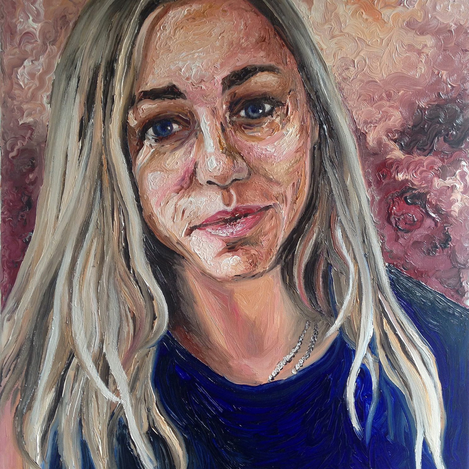Laura | Oil on canvas | 60 x 80 cm | 2014