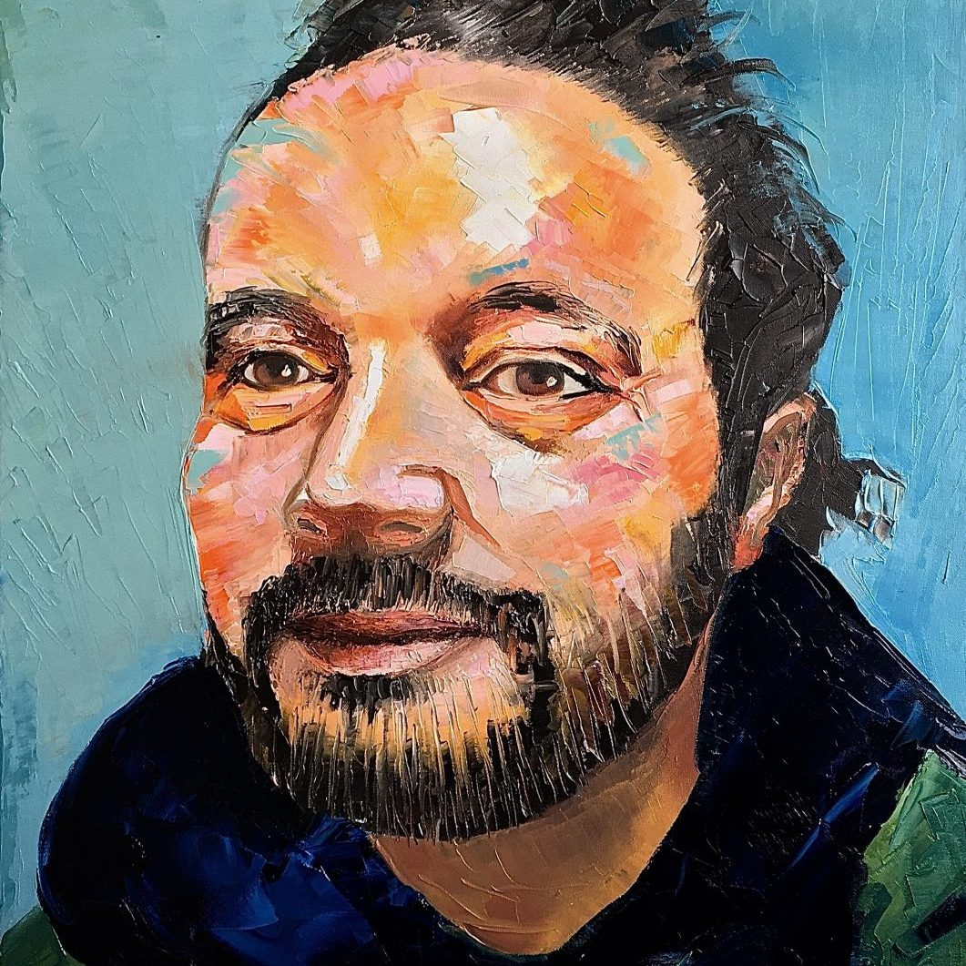 Leo | Oil on canvas | 60 x 90 cm | 2020