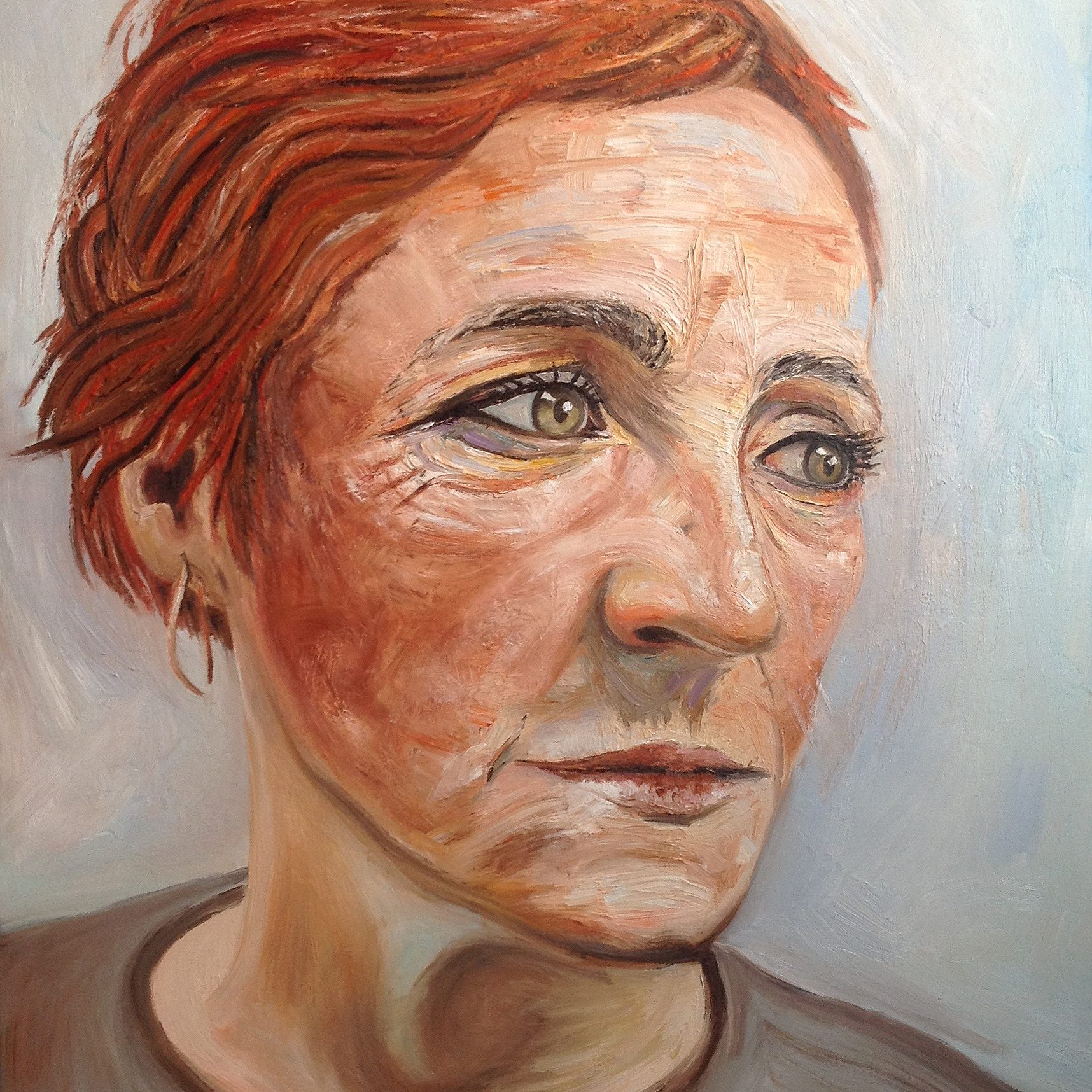 Naomi | Oil on canvas | 92 x 122 cm | 2015