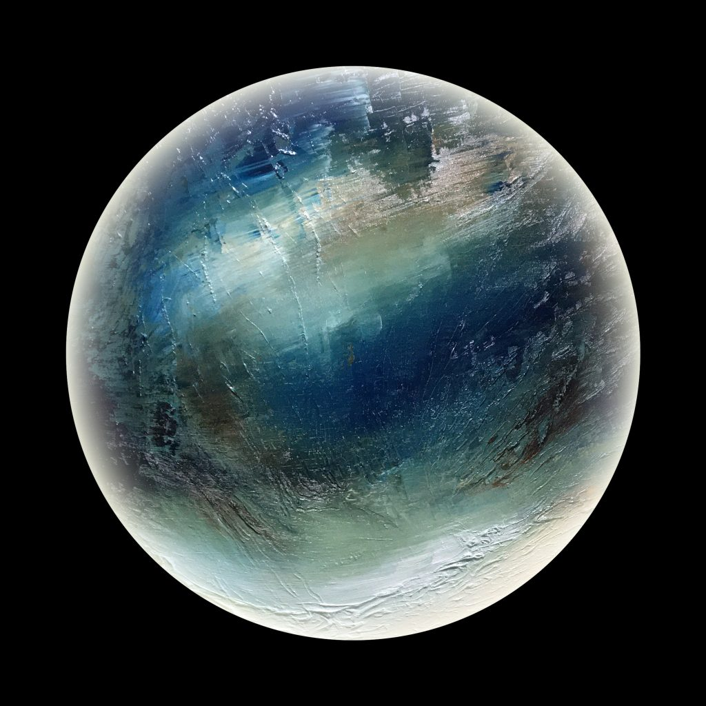 Nyxia planet - from the Aether Worlds series
