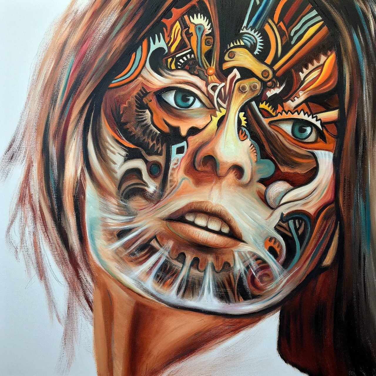 The Mechanical Paradise oil paintings by Paul Kingsley Squire