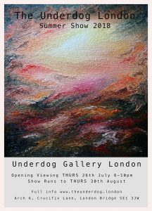 Summer show at the Underdog gallery