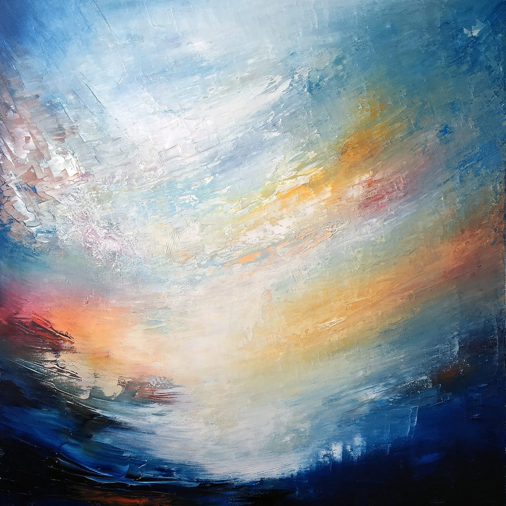 Aetheria | Oil on canvas | 100 x 100 cm | 2019