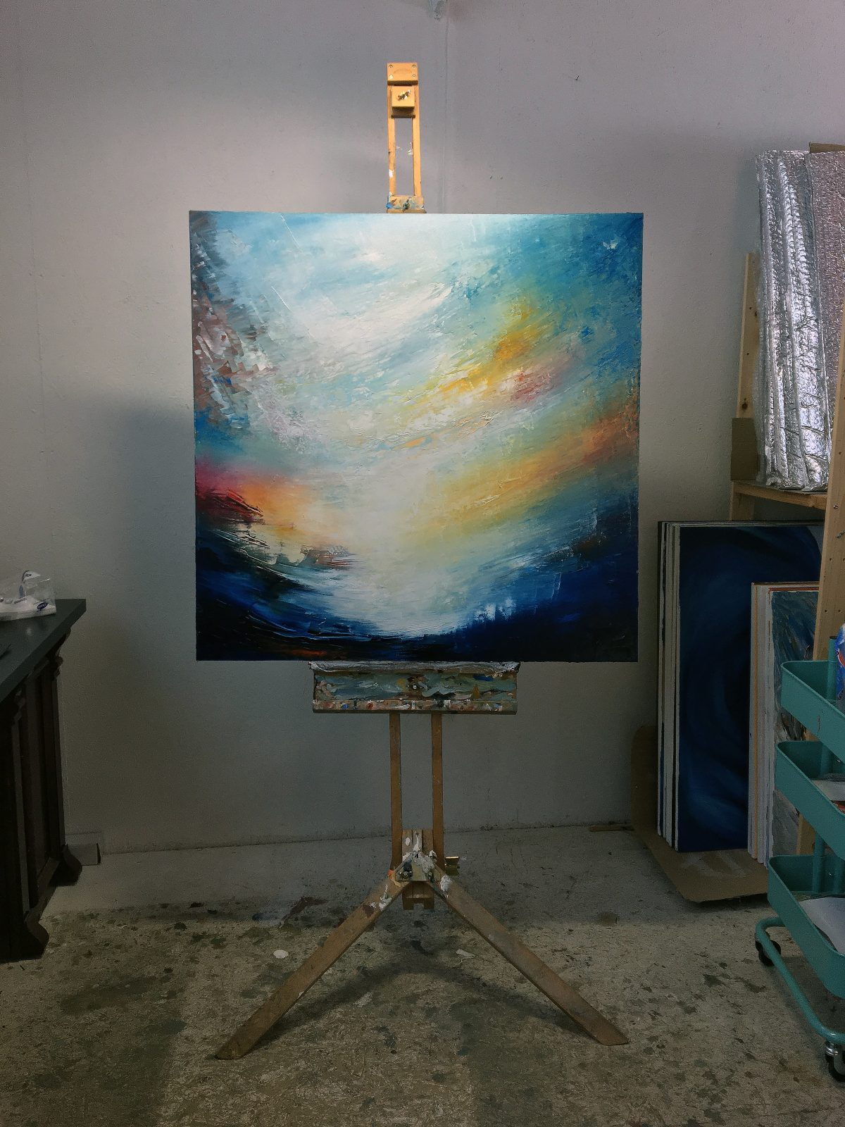 Aetheria - on the easel