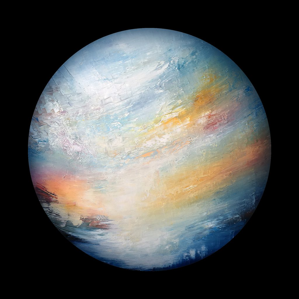 Aetheria planet - from the Aether Worlds series of digital prints