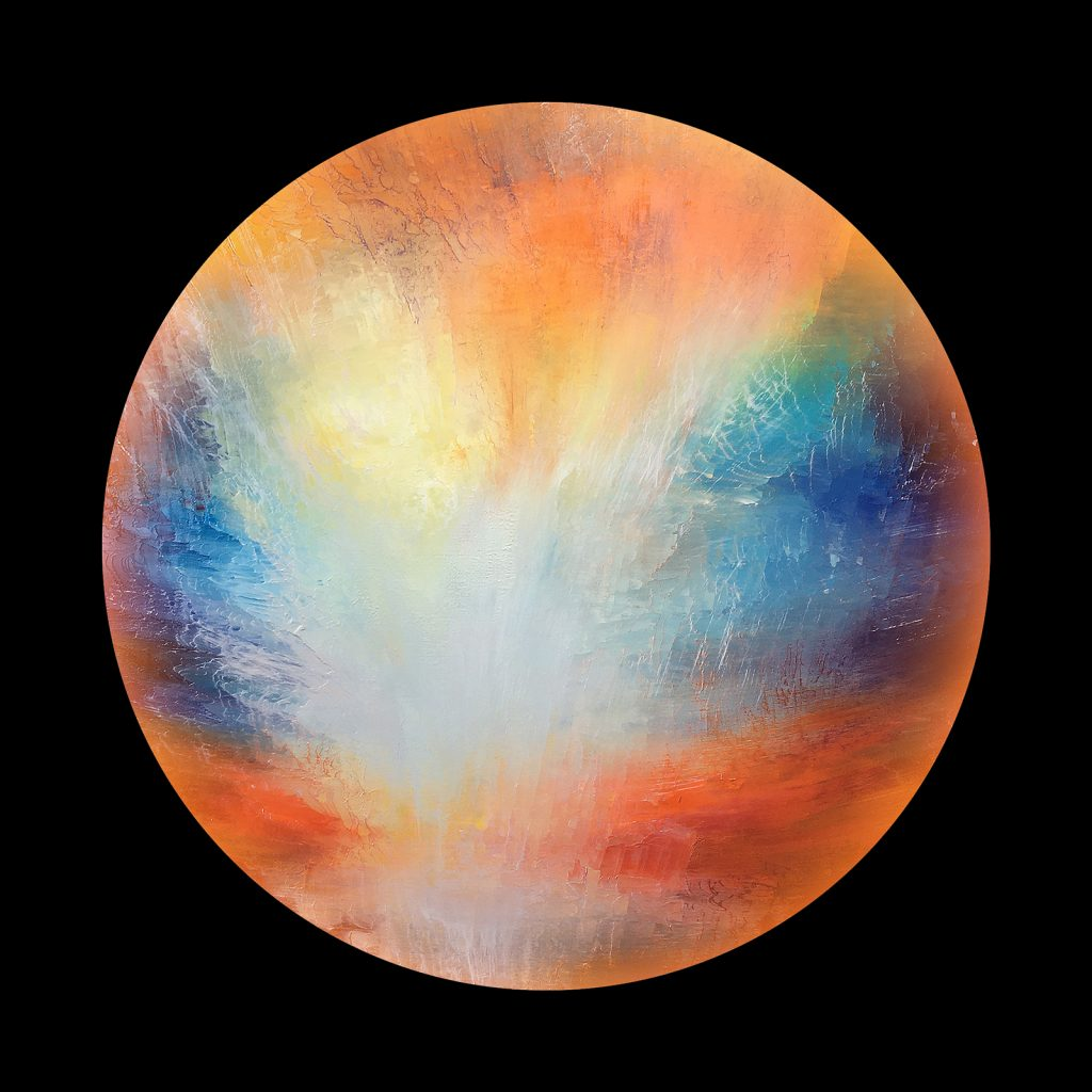 Artemesia planet - from the Aether Worlds series of digital prints