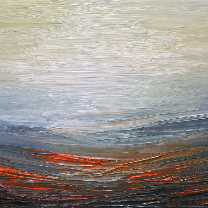 At First Light | Oil on canvas | 60 x 90 cm | 2017