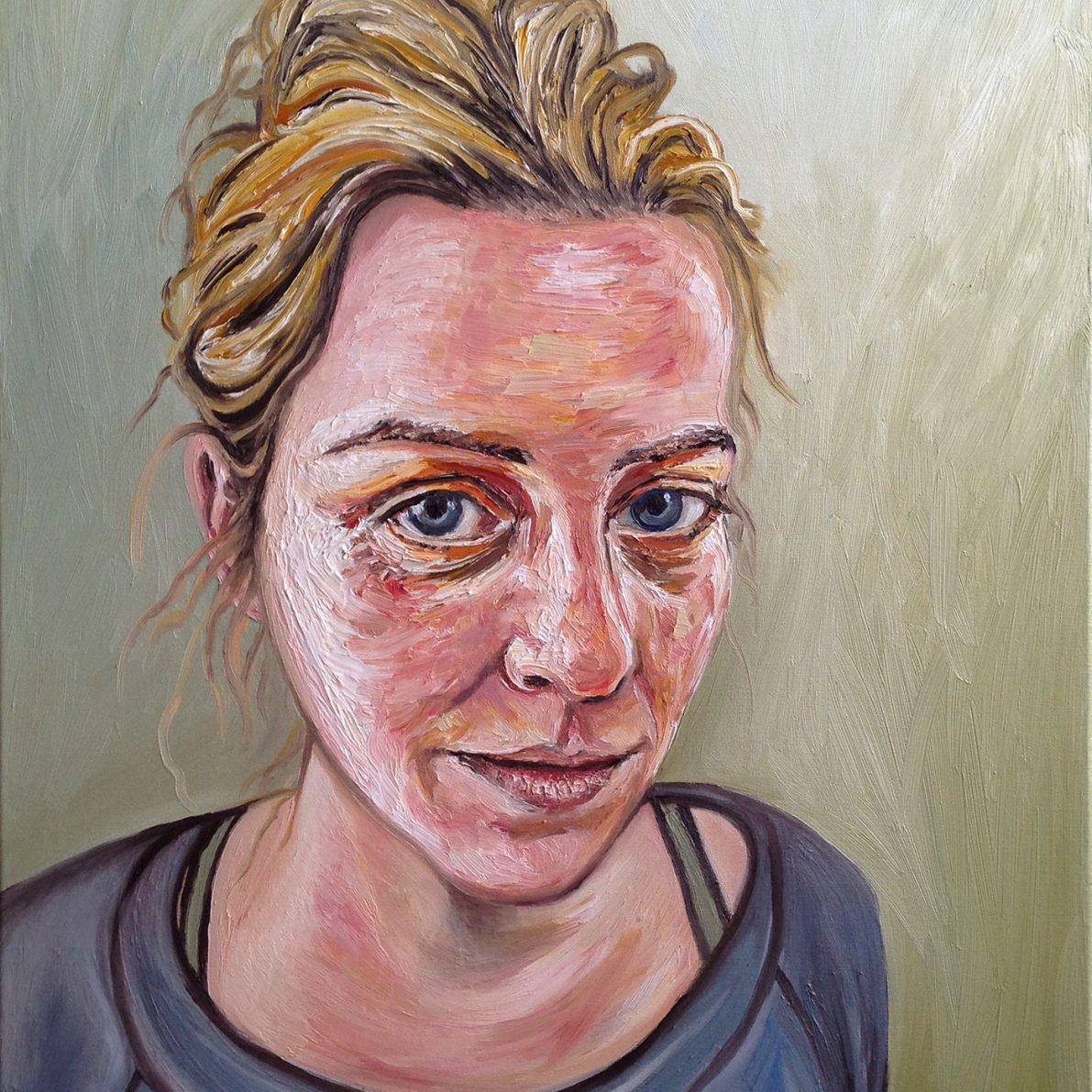 Bernadette | Oil on canvas | 60 x 90 cm | 2015