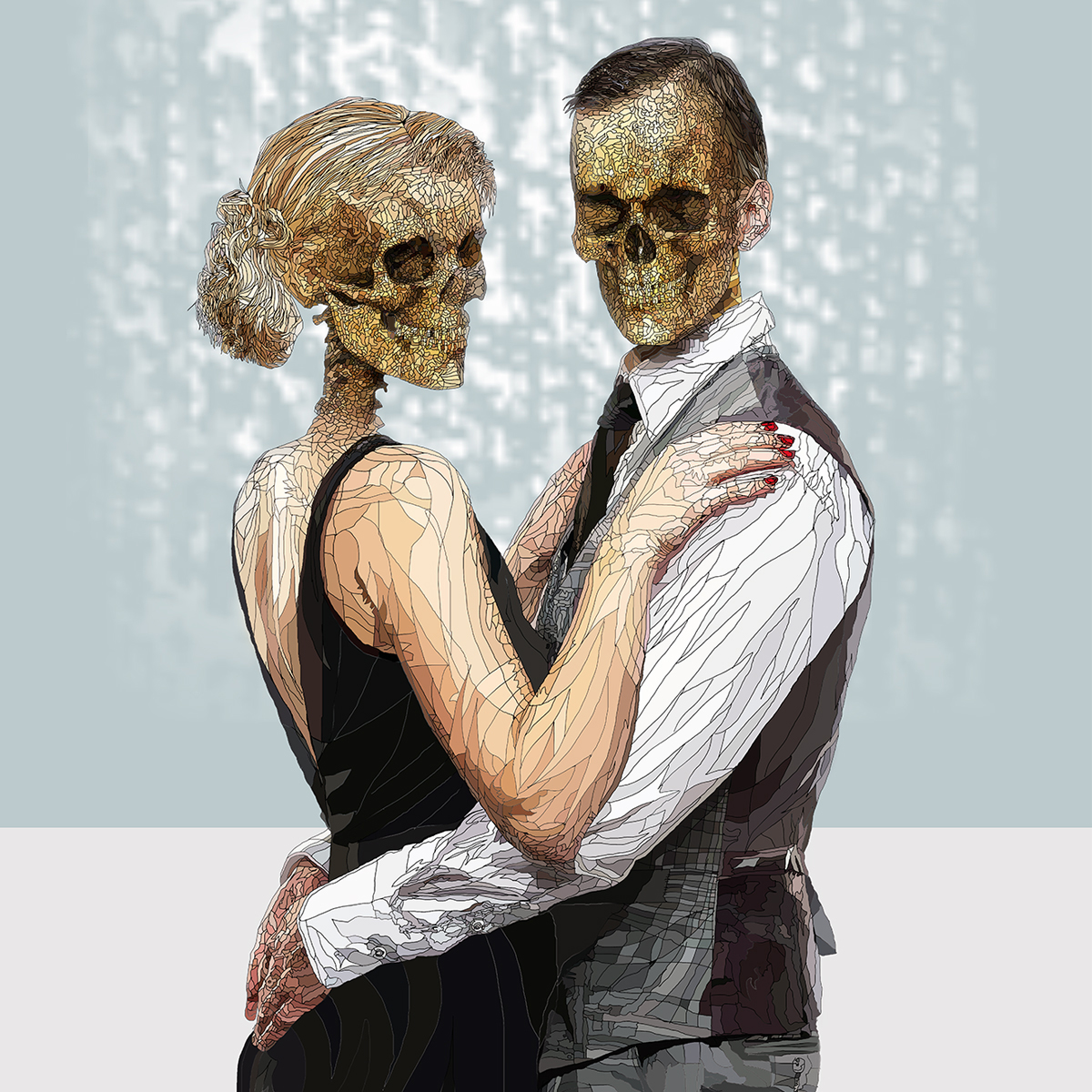 The Danse Macabre - digital artwork