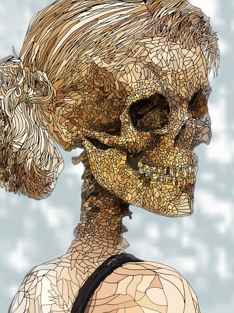 Danse Macabre female head