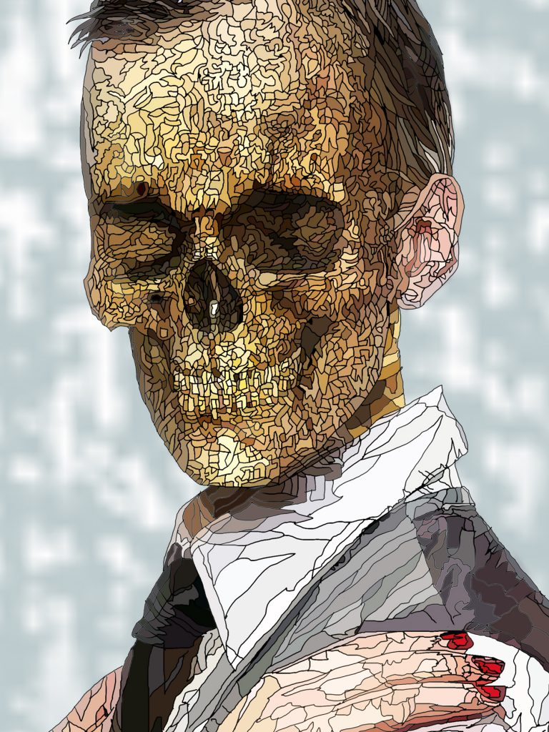 Danse Macabre male head