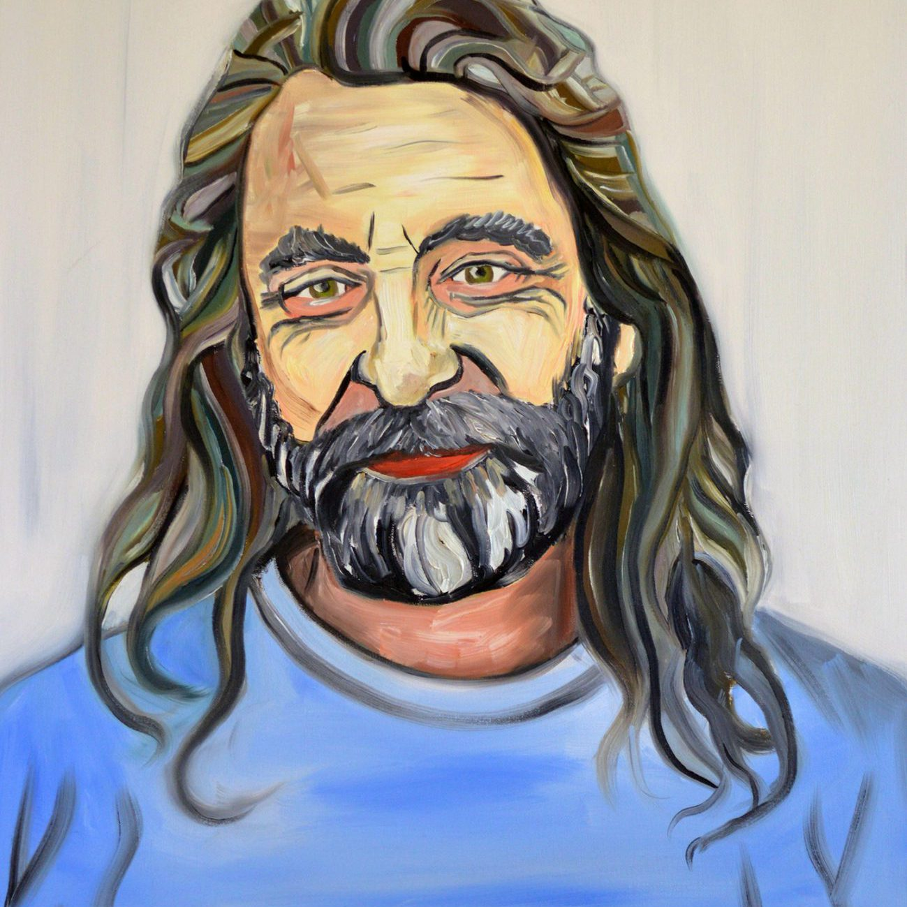 Portrait of Dick Willows | Oil on canvas | 60 x 80 cm | 2012