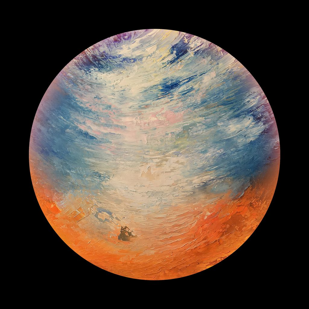 Edenia planet - from the Aether Worlds series of digital prints