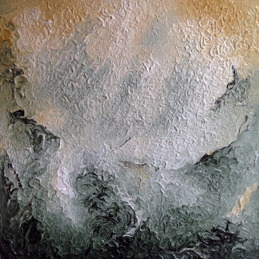 Elements 5 abstract painting by Paul Squire