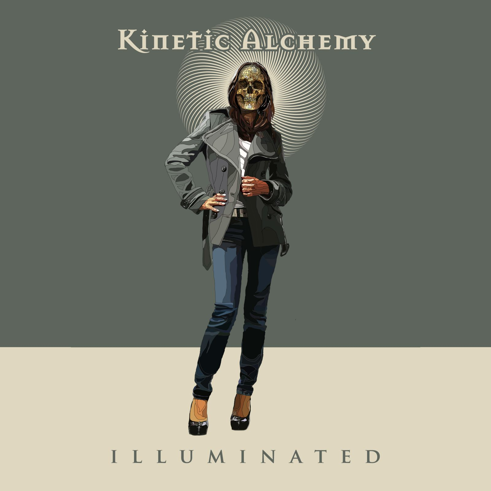 Illuminated music track by Kinetic Alchemy