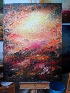 In A Time Lapse | Oil on canvas | 96 x 122 cm