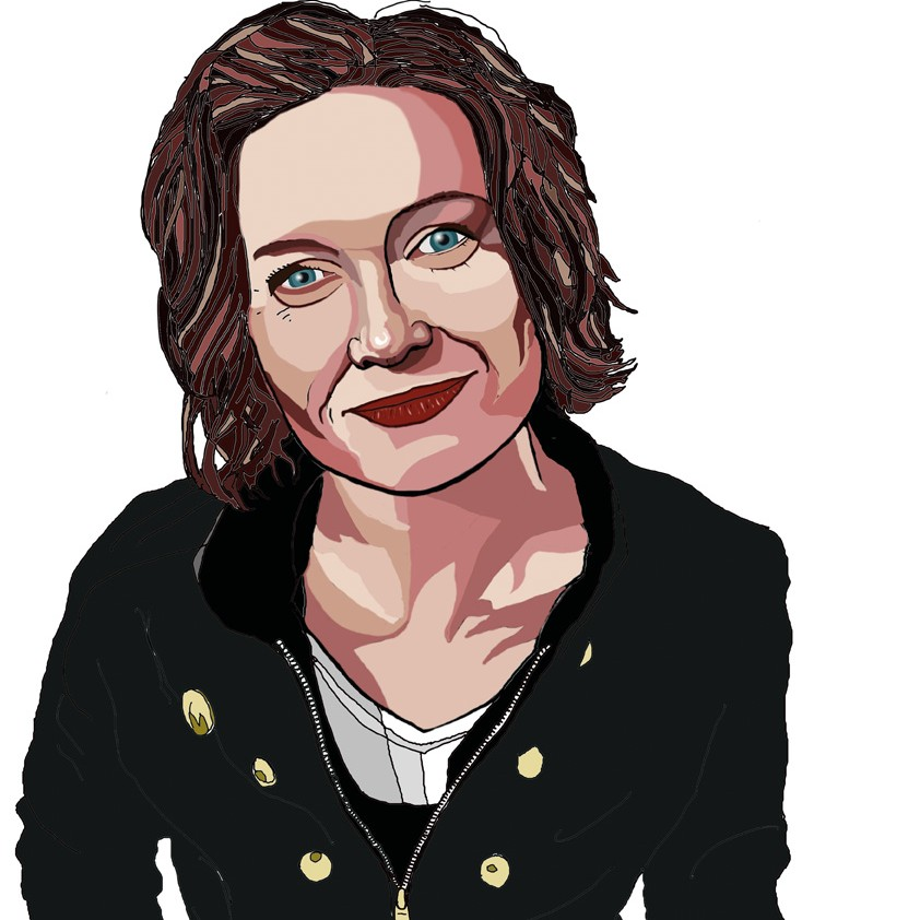 Modern Portrait (digital) of the Actress, Performer and Musician Katherine Toy