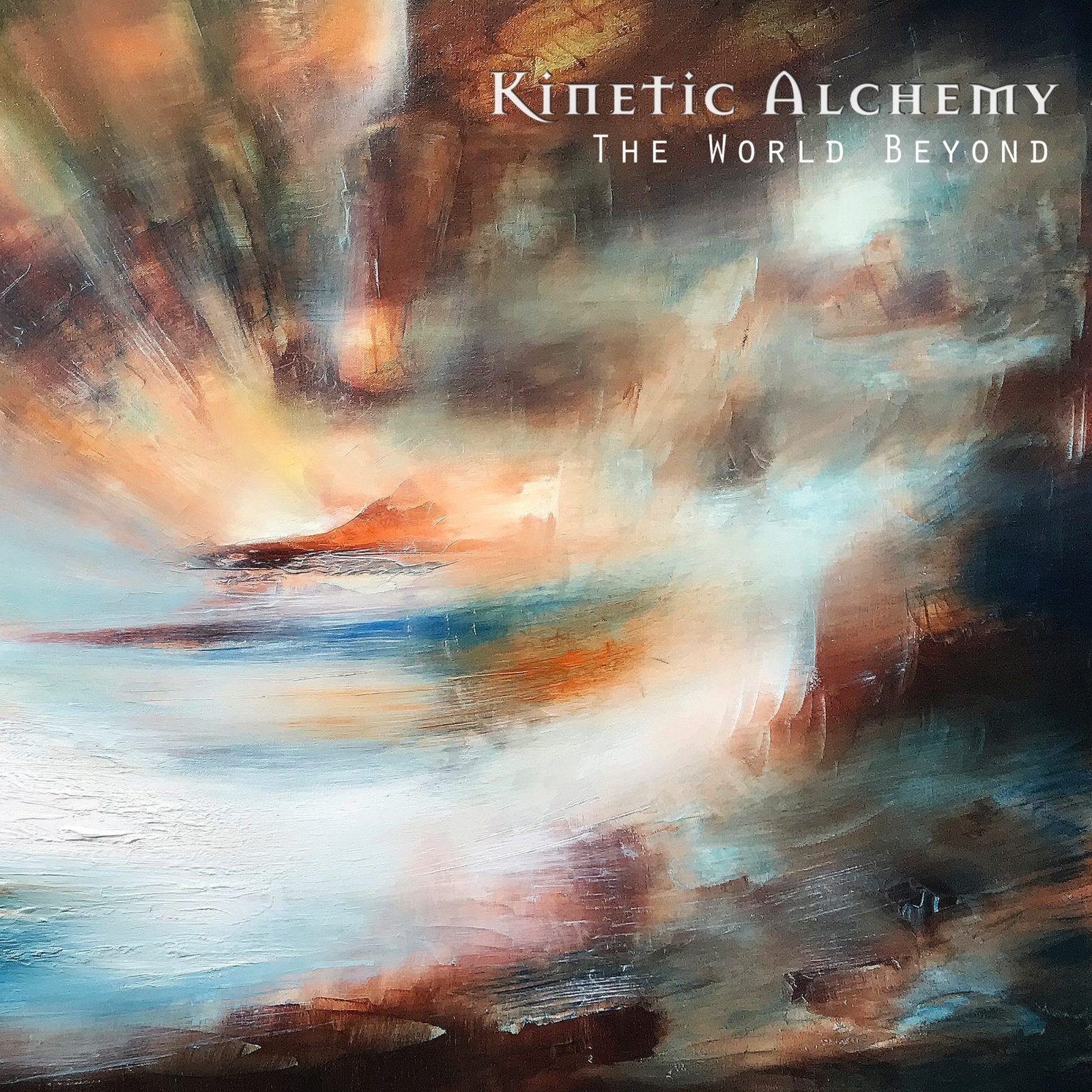 Kinetic Alchemy - The World Beyond - chill wave electronica music album