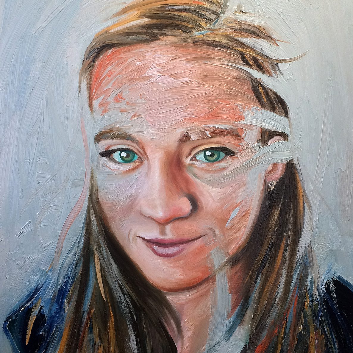 Madeline | 60 x 90 cm | Oil on Linen | 2017