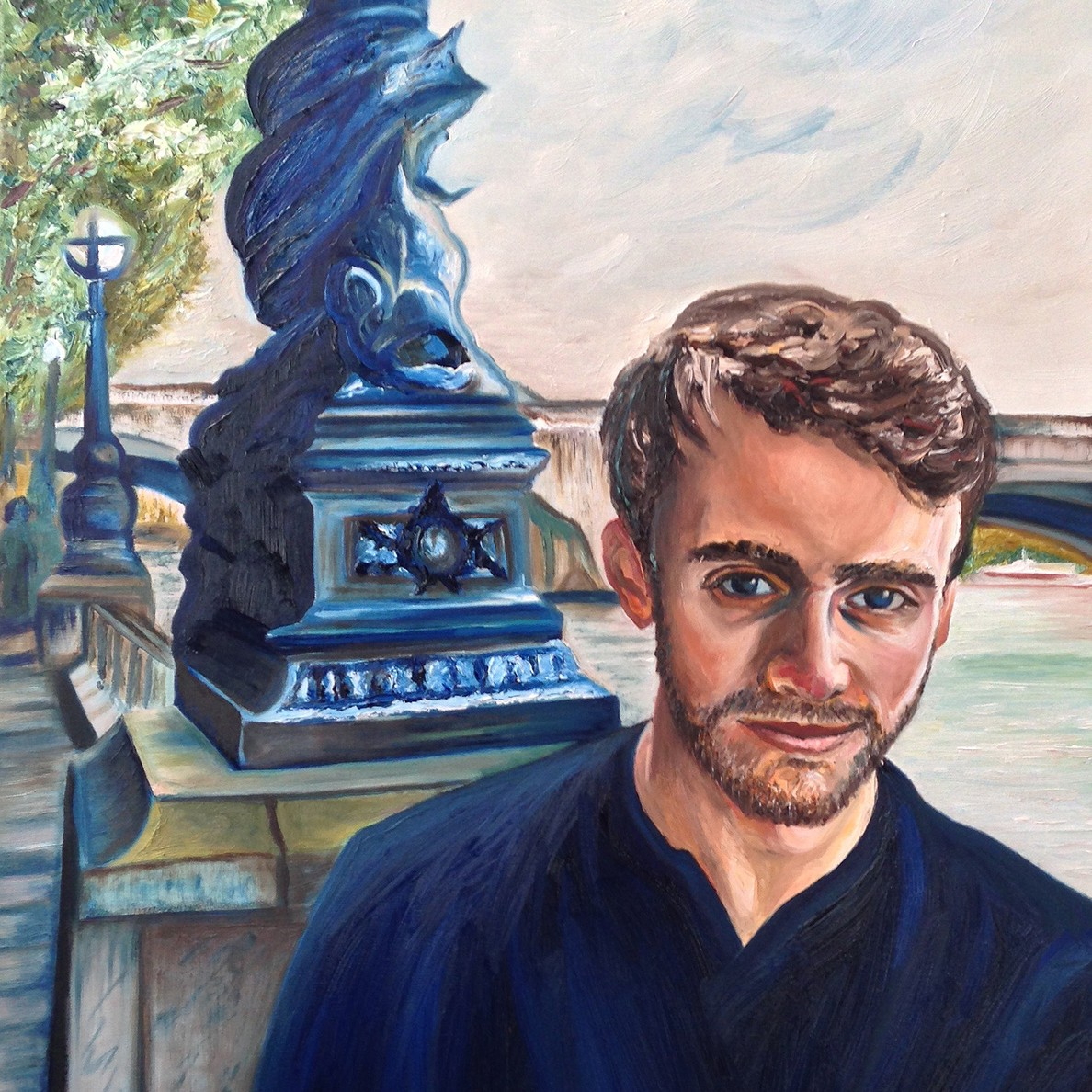 Nick | Oil on Canvas | 60 x 90 cm