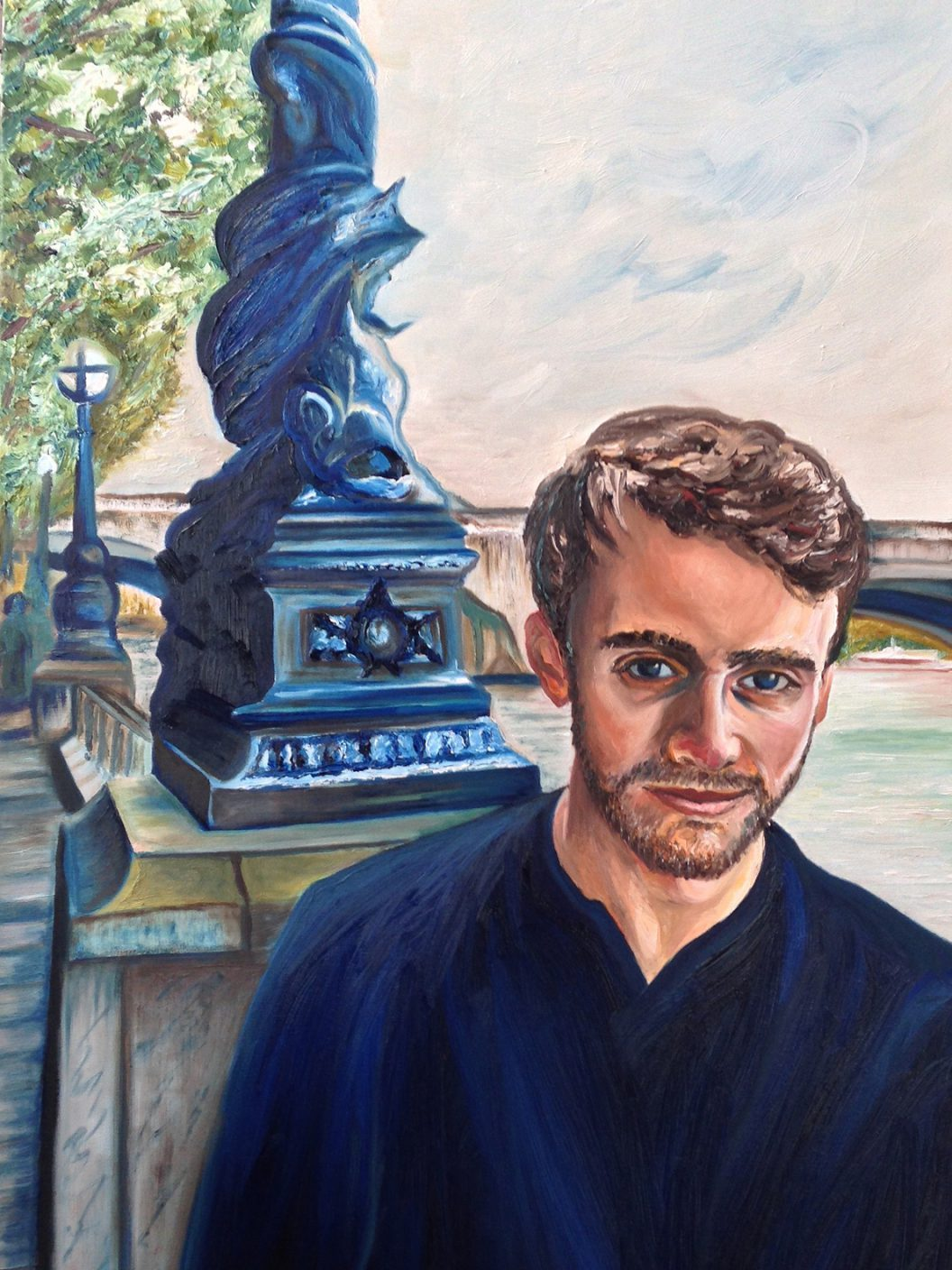 Nick | Oil on canvas | 60 x 90 cm | 2015
