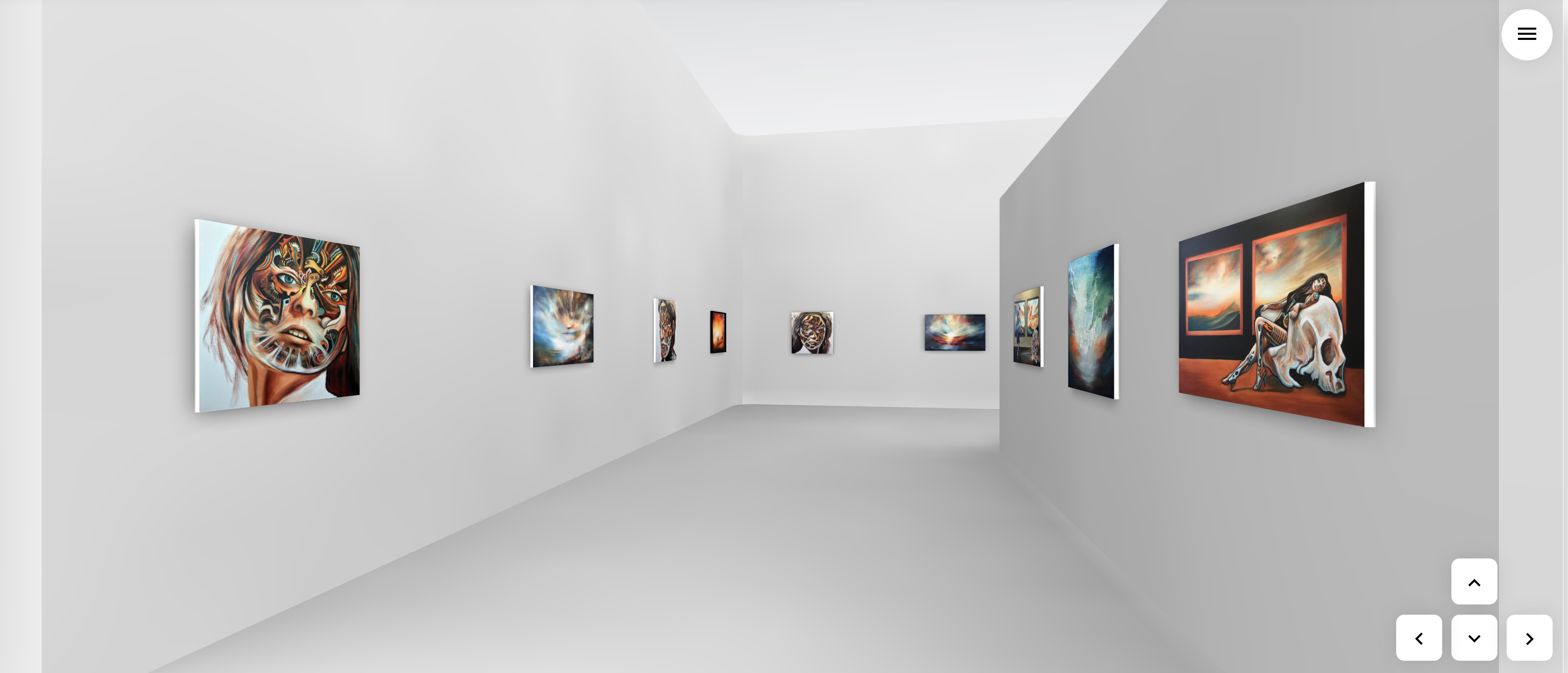 Nothing Is Real - virtual 3d Exhibition by Paul Kingsley Squire