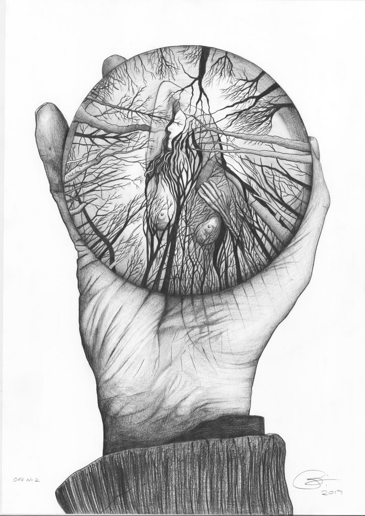 Orb 2 | Pencil on 200gsm paper | 42 x 59.4 cm