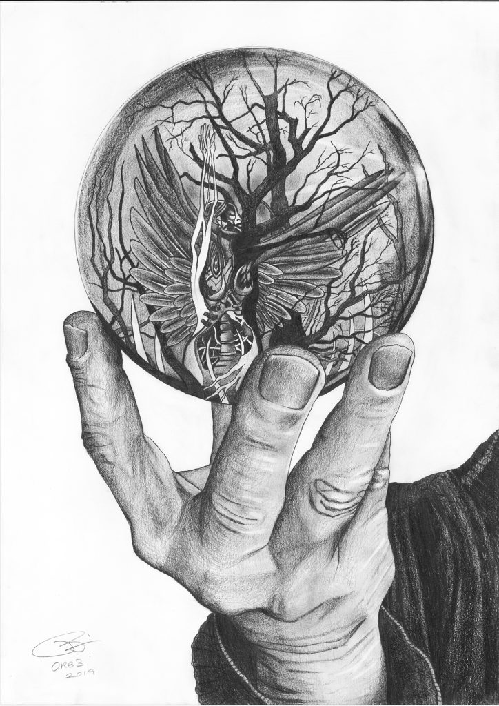 Orb 3 | Pencil on 200gsm paper | 42 x 59.4 cm