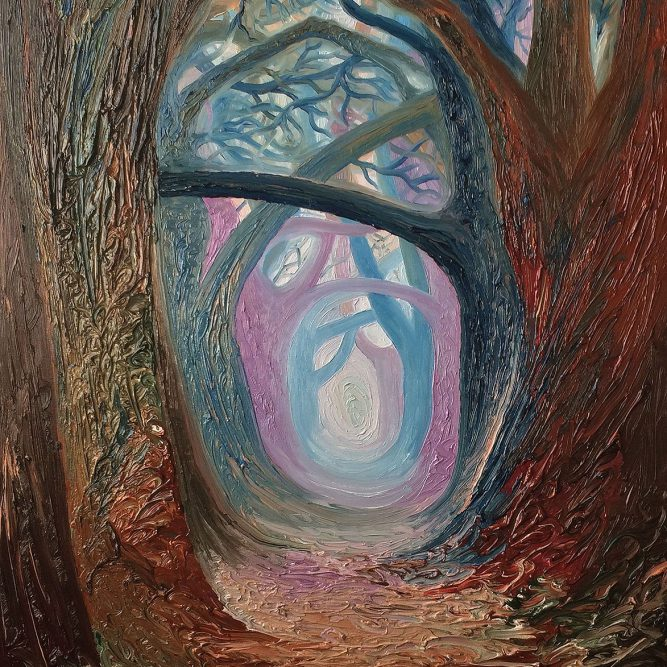 Pathway 1 | Oil on canvas | 60 x 90 cm | SOLD