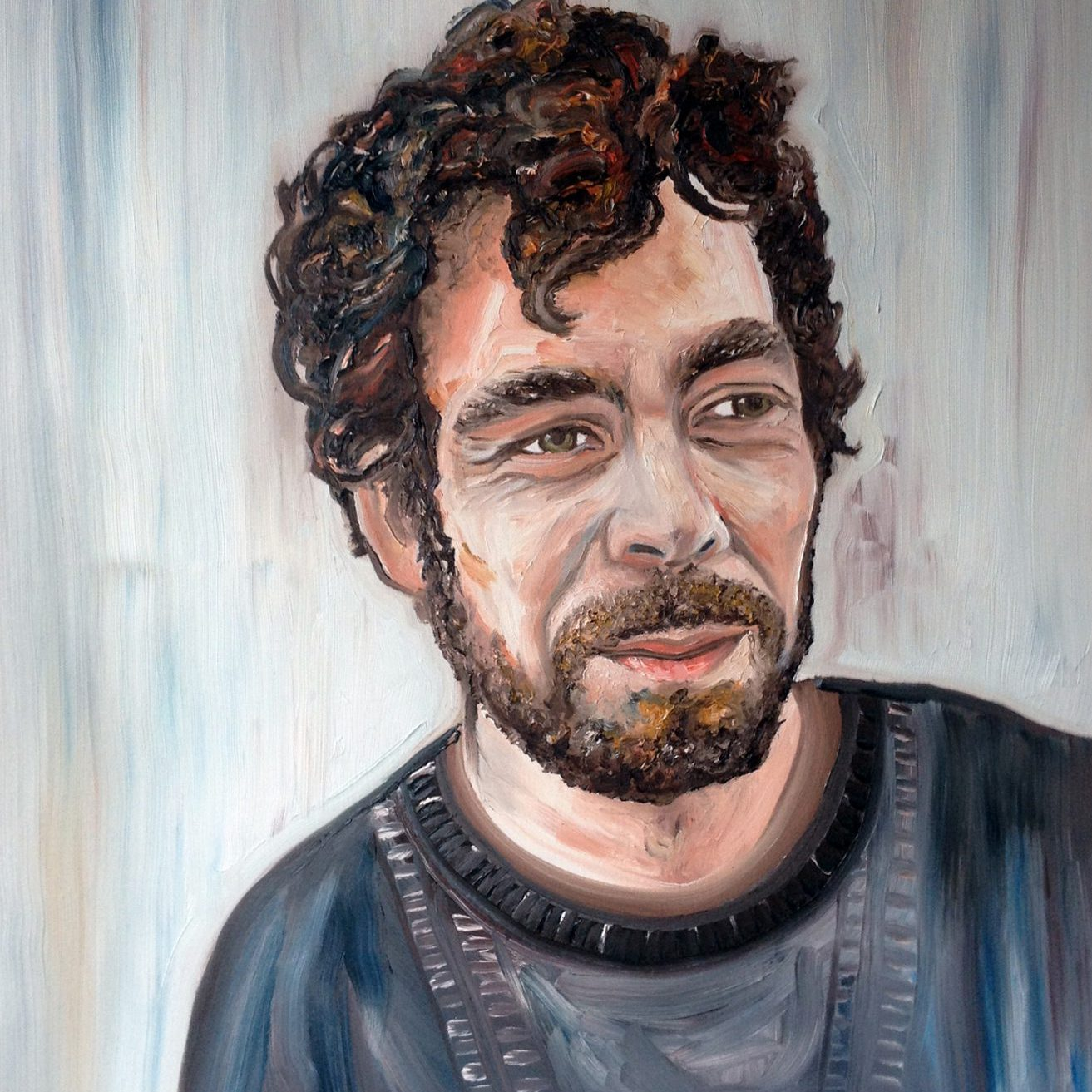 Portrait of the designer Pedro Mealha | oil on canvas | 60 x 80 cm | 2014
