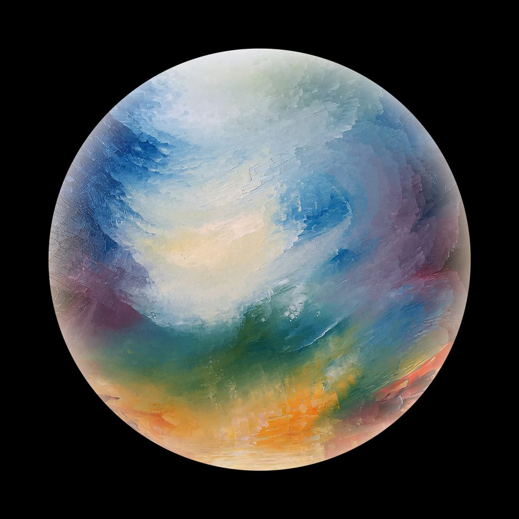 Promethia planet - from the Aether Worlds series of digital prints