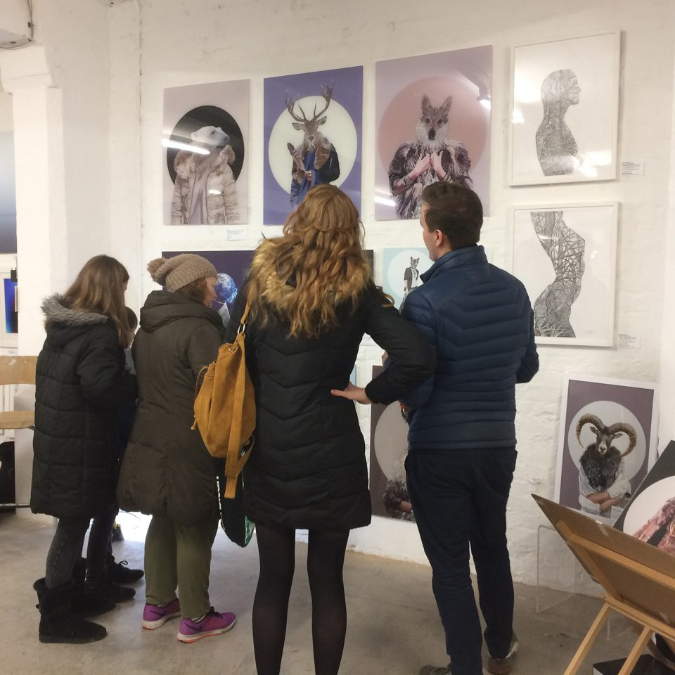 Talented Art Fair, Brick Lane, March 2018