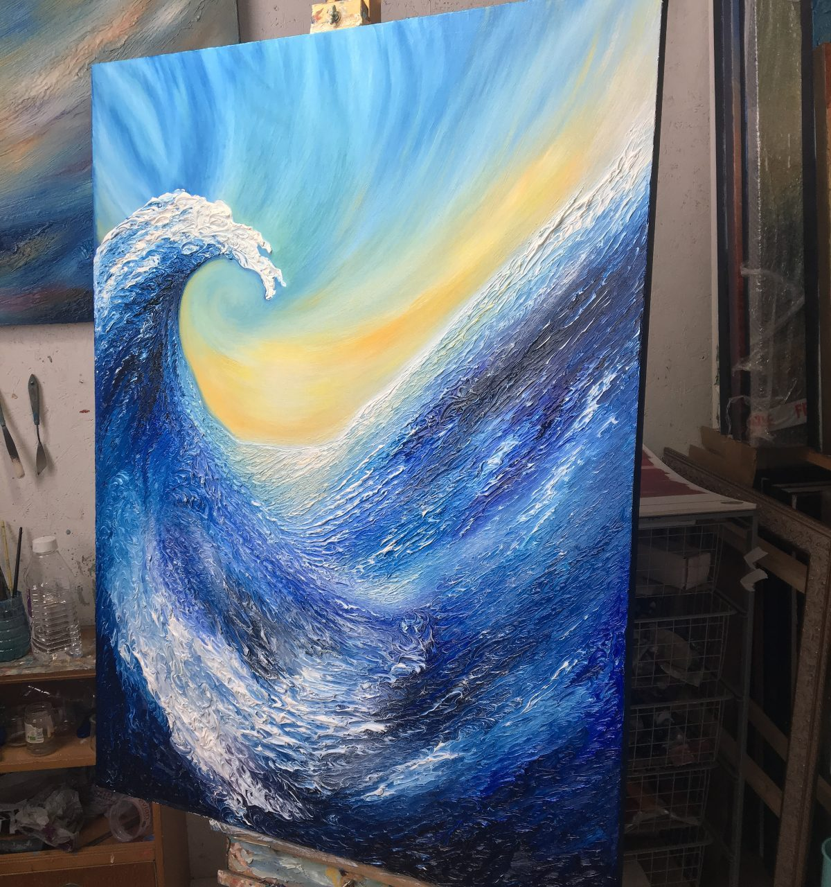The Wave | Oil on canvas | 92 x 122 cm