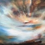 The World Beyond   Oil on canvas   122 x 76 cm   2020