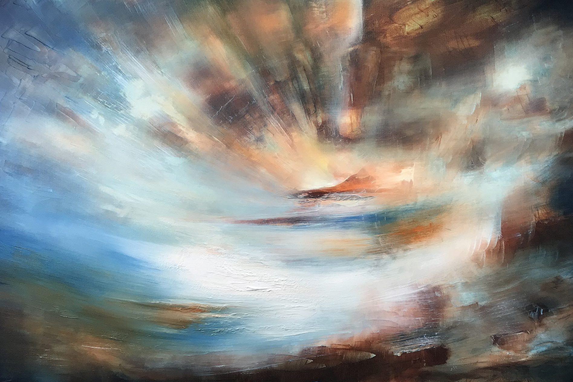 The World Beyond | Oil on canvas | 122 x 76 cm | 2020
