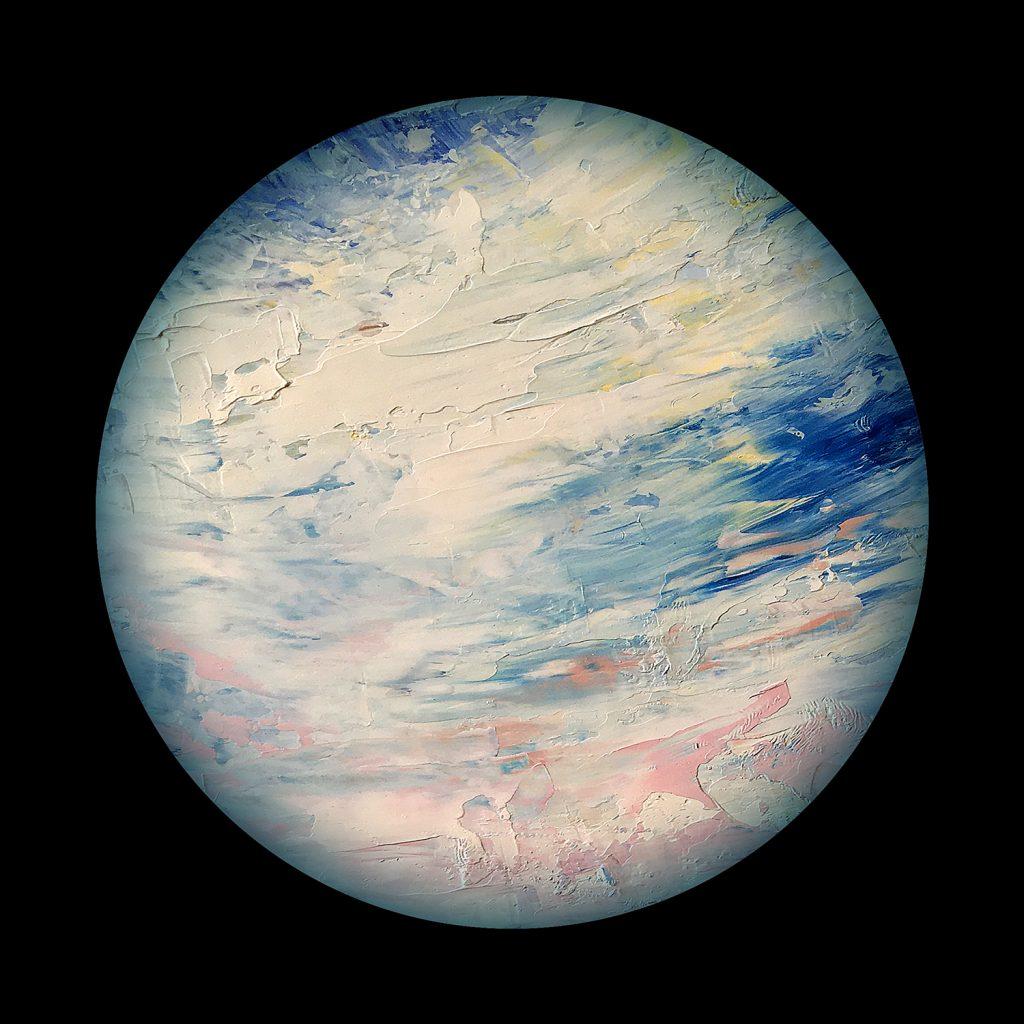 Chionia planet - from the Aether Worlds series of digital prints
